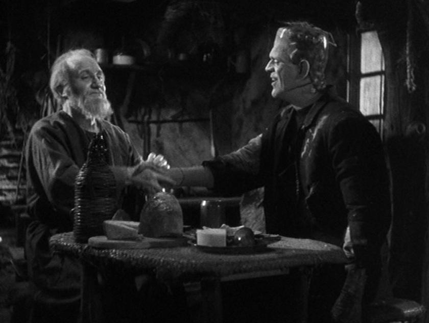 Frankenstein and the hermit
