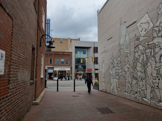 UNC also has plans to remake the area of Porthole Alley with four-story-tall buildings, which will probably result in the eviction of Carolina Coffee Shop.