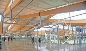 Raleigh-Durham International Airport's Terminal 2, which was completed in 2011. Source: O'Brien Atkins Associates